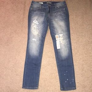 Ripped Blue Jeans sz 9